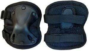 KNEE & ELBOW PROTECTIVE AIRSOFT TACTICAL PADS SET PROTECTOR OUTDOOR SKATE SPORTS