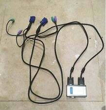 belkin 2 port kvm switch with built in cabling manual