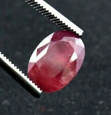 14.50 Ct Certified Natural Oval Madagascar Blood Red Ruby Loose Gemstone