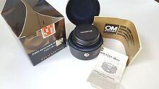 Olympus Zuiko Auto Fisheye F3.5 16mm OM System Lens
