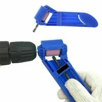 1x Portable Drill Bit Sharpener Grinding Wheel for Grinder Polishing Home Tool