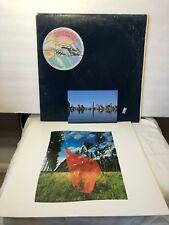 Pink Floyd Wish You Were Here vinyl LP 1975 Columbia  [BLUE SHRINK] Postcard