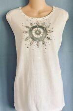 Women's Plus Size Clothes Shirt Top Blouse 1X 18/20 18W/20W Quaker Factory NWT