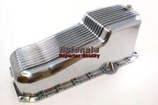 86-up SBC Small Block Chevy 265,283,305,307,327,350,383,400 Aluminum oil pan Fin