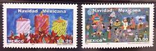 Mexico 2001 Christmas Candle Mexican Xmas Eve Piñata Kids Poinsettia Jesus MNH