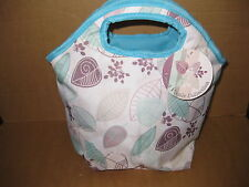 LUNCH TOTE INSULATED COOL BAG COOLER PICNIC CAMPING SUMMER PARK FOOD CHILL NEW