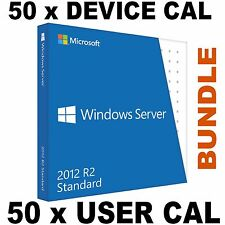 Microsoft Windows Server 2012 R2 Standard 50 User + 50 Device CAL Digital