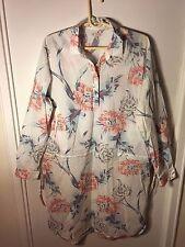 Women's Gap brand Floral Shirt Dress size XL