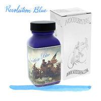 Noodler's Exclusive Revolution Blue 3oz water-resistant Fountain Pen Bottled Ink