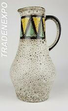 Vintage 60s/70s ILKRA EDELKERAMIK Vase 1207/25 West German Pottery Fat Lava Era