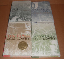 The Giver Vol.1,2,3,4 by Lois Lowry Hardcover NEW