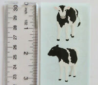Mrs Grossman COW - Half Strip of Vintage 1990 COW Stickers Discontinued