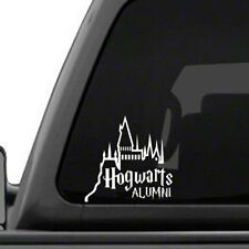 Hogwarts Alumni Castle Car Truck wall Vinyl Decal Sticker Harry Potter