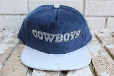 Deadstock Vintage DALLAS COWBOYS Corduroy Snapback Hat