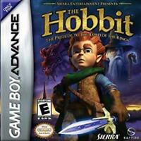 The Hobbit The Prelude to the Lord of the Rings Game Boy Advance Game Used