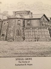 Spiegel Grove Etching / Scott Kiefer : Plate Signed, Embossed