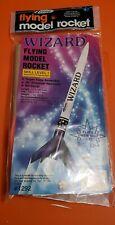 Model rocket Estes Wizard kit.#1292 last one of these kits.