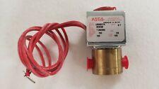 """ASCO  Solenoid Valve U8262C14 24VDC Coil 1/8"""" NPT in/out 150 PSI - NEW in Box"""
