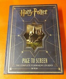 HARRY POTTER ~ PAGE TO SCREEN THE COMPLETE FILMMAKING JOURNEY HARDBACK