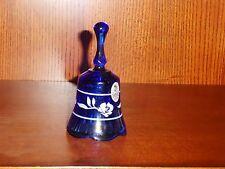 Gorgeous blue Fenton bell