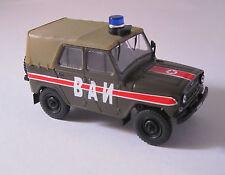 Russian service CARS/Military traffic police/NEUFS/1:43/DEAGOSTINI