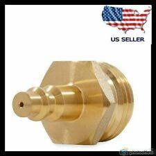 Rv Air Blow Out Plug Quick Connect Camper Travel Trailer Hose Water Line Adapter