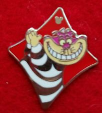 disney pin cheshire cat card suit collection hidden mickey