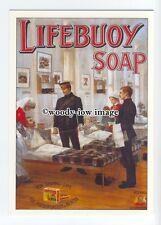 ad0642 - Lifebouy Royal Soap - Military Hospital 1890s - Modern Advert Postcard