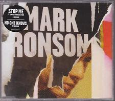RARE SAMPLE PROMO LIKE NEW CD SINGLE MARK RONSON STOP ME 4 TRACK