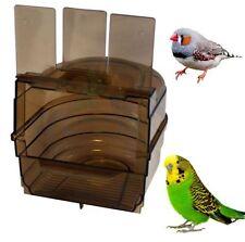 Caged Bird Bath Multi ABBEVERATOIO GABBIA per pappagallini canarini fringuelli