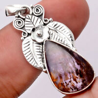 Cacoxenite Super Seven 7 Mineral 925 Sterling Silver Pendant Jewelry SDP66252