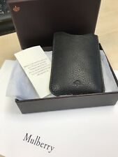 GENUINE MULBERRY iPhone 4 Holder / Key or Credit Card Pouch Leather Brand New