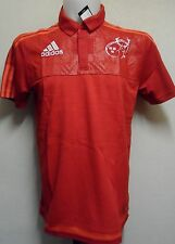 MUNSTER RUGBY MEDIA POLO BY ADIDAS ADULTS SIZE ADULTS XL BRAND NEW WITH TAGS