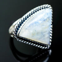 Large Rainbow Moonstone 925 Sterling Silver Ring Size 6 Ana Co Jewelry R995435F
