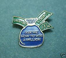 McDonalds Crew 2001 Win A Miillion Pin Pinback - NEW
