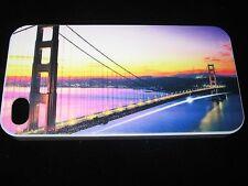 Golden Gate Bridge Hard Cover Case for iPhone 4 4s Golden Gate Bridge at Sunrise