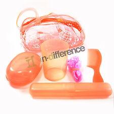Travel Set Bag Toothbrush case Soup case Shower Hat Hair Comb Brush Bathroom