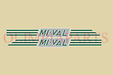 MIVAL 125cc mod: N55 MOTO ROSSA ADESIVI STICKERS