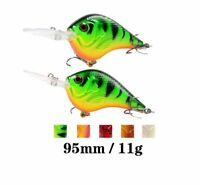 Fishing Bait Lure Wobbler 9.5 CM /10.G Minnow plastic artificial fishing wobbler