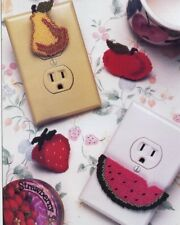 Fruit Child Safety Outlet Plug-ins Plastic Canvas PATTERN 30 Days To Shop & Pay!