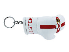 Keychain Mini boxing gloves key chain ring flag north ulster northern ireland
