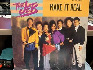"""THE JETS MAKE IT REAL 12"""" 1988  MCA 23859"""