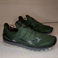 Saucony Mens Xodus Iso 3 Olive/Black Running/Trail Shoes Size 11.5 Mens