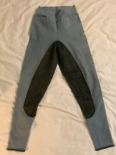 size 28 blue/green fullseat riding pants