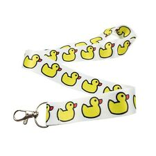 Rubber Ducky Duck Keychain Holder Lanyard
