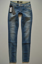 * 313 NUOVO ONLY Donna Anca Pantaloni onlskinny LOW CORAL ro950 JEANS W 25 L 34 // 2. scelta