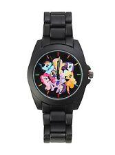 My Little Pony Group Analog Watch in Tin Rainbow Dash Pinkie Pie Fluttershy NEW