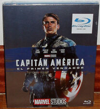 Captain America The First Avenger Schonbezug Blu-Ray Neu Aktion (Ohne Offen ) R2
