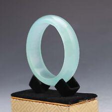 Chinese Hand-carved Natural Jadeite Jade  Bracelet