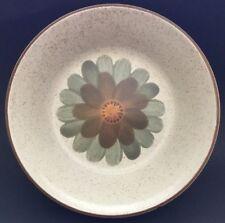 Premiere Dura Stone Serving Bowl Basil P9804 Japan Floral Print Stoneware